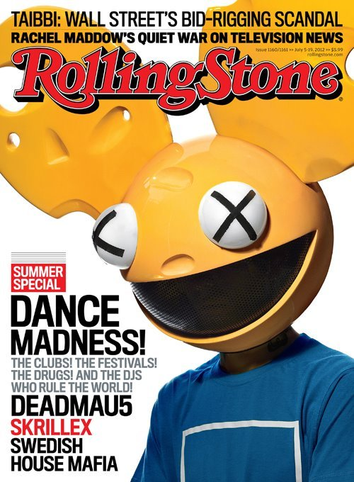 Rolling stone magazine cover july  2012