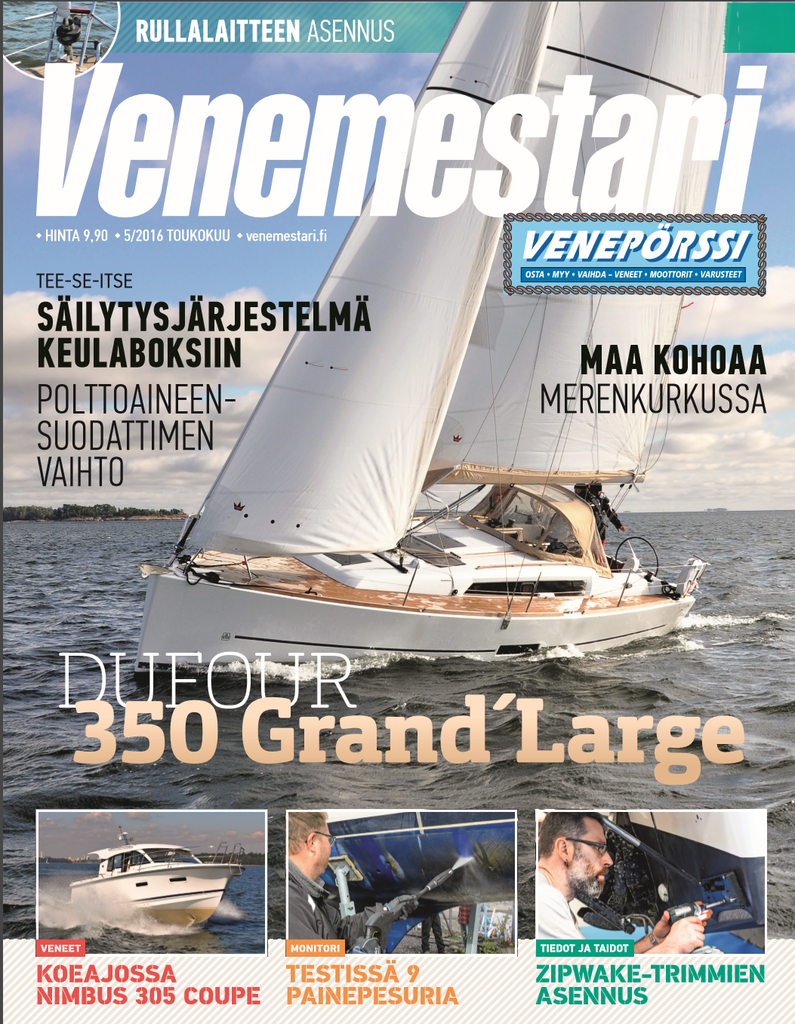 Finland venemestari april 2016 cover