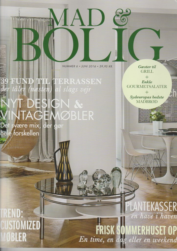 Denemarken mad bolig juni 2016 cover