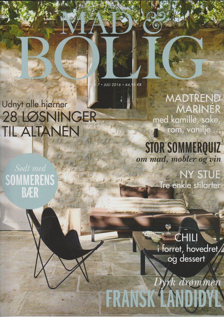 Denemarken mad bolig july 2016 cover