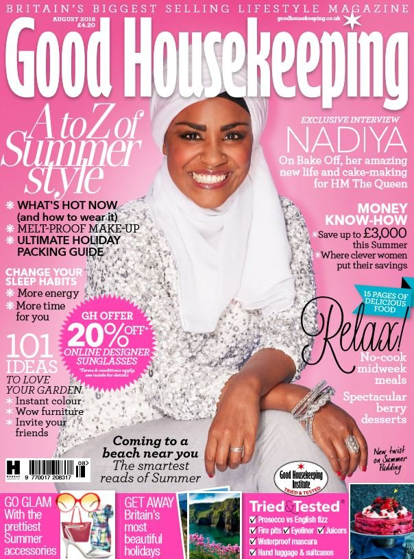Uk goodhousekeeping juli 2016 cover