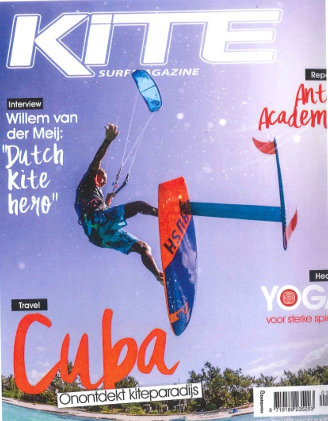 Nl kitesurfmagazine august 2016 cover