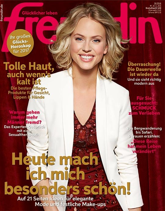 Duitsland freundin december 2016 cover