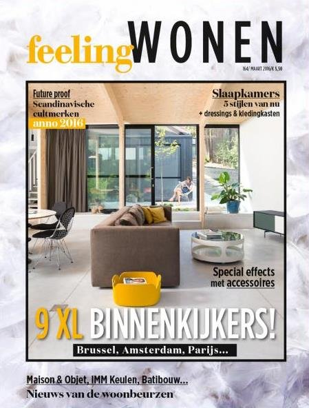 Be feelingwonen maart 2016 cover