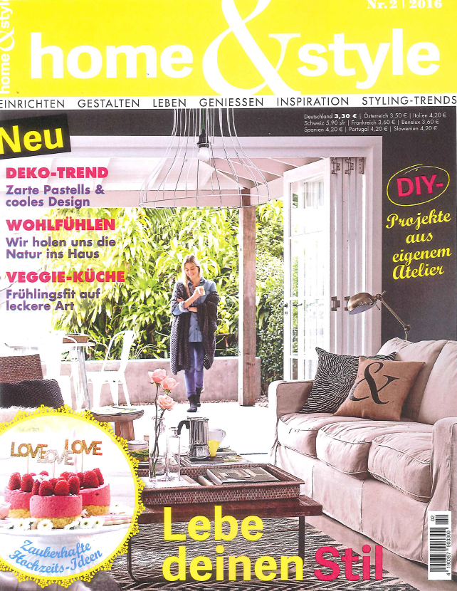 Duitsland home style maart 2016 cover