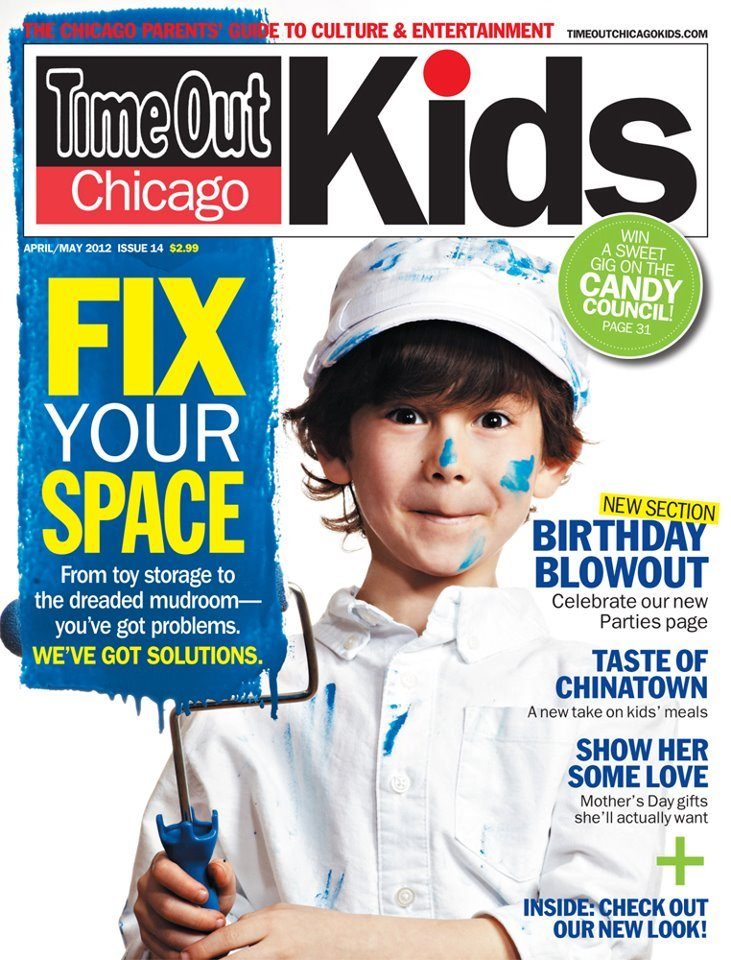 Time out chicago mag cover  april may  2012