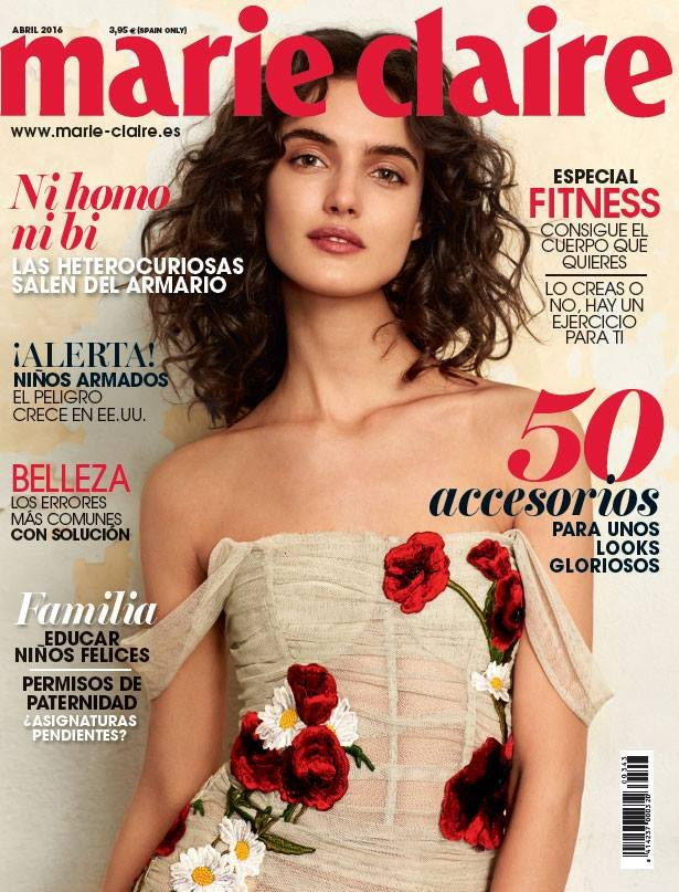 Spain marieclaire april 2016 cover