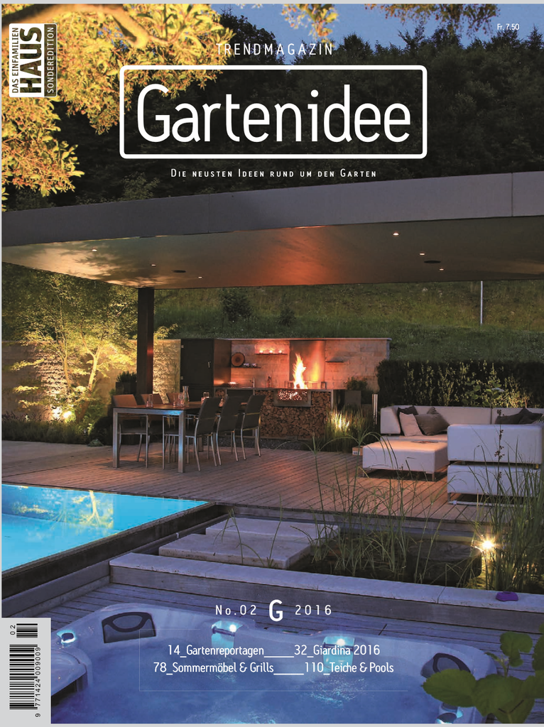 Zwitserland gartenidee april 2016 cover