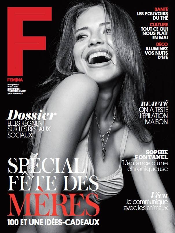 Zwitserland femina april 2016 cover