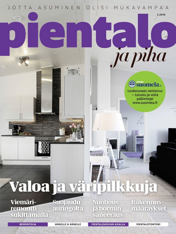 Finland pientalojapiha april 2016 cover