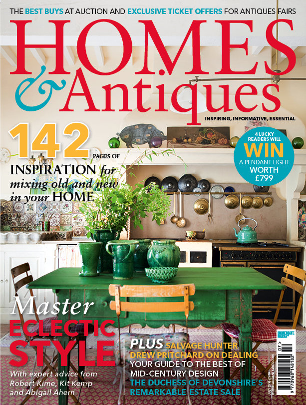 Uk homes antiques july 2016 cover