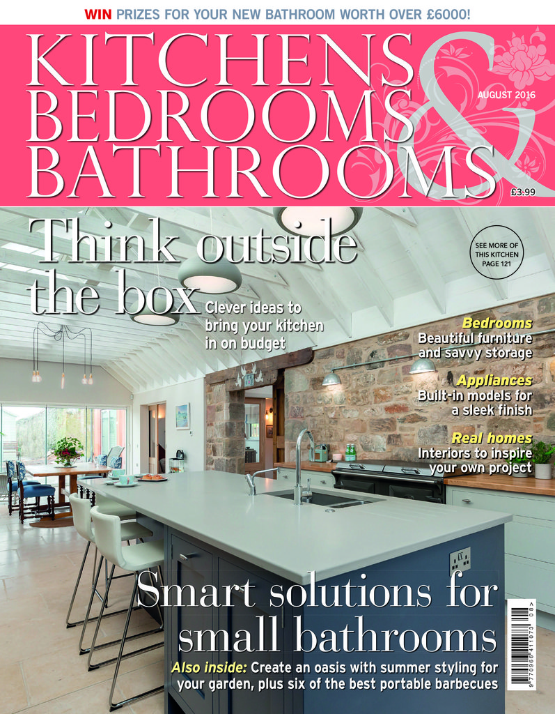 Uk kitchensbedrooms bathrooms juli 2016 cover