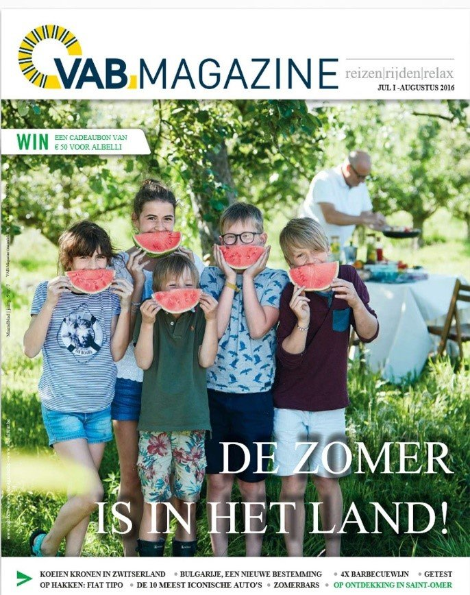 Be vabmagazine juli cover